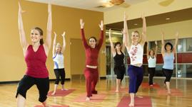 Recreational fitness class