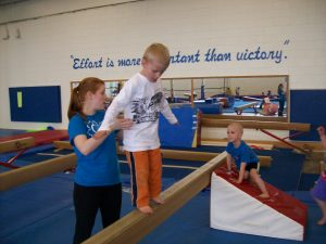 Kids who do activities like gymnastics are able to learn a diverse set of fundamental movement skills