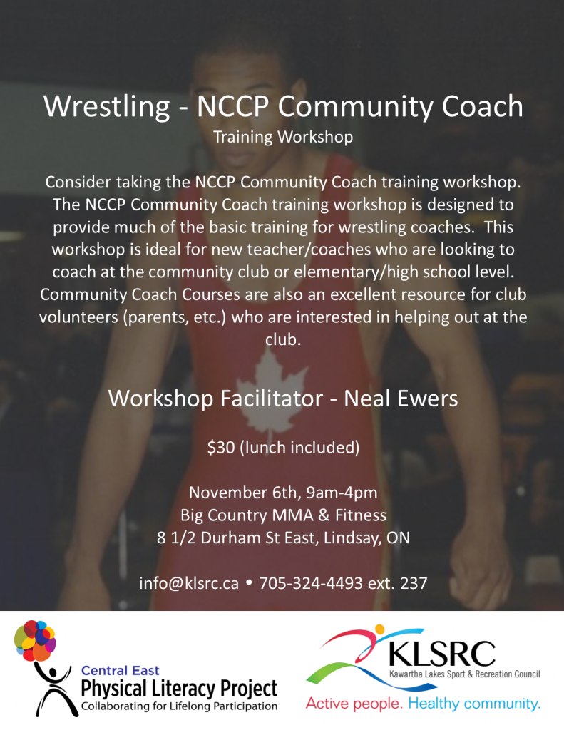 wrestling nccp community coach workshop